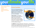 Your Climate Your Life - A-level