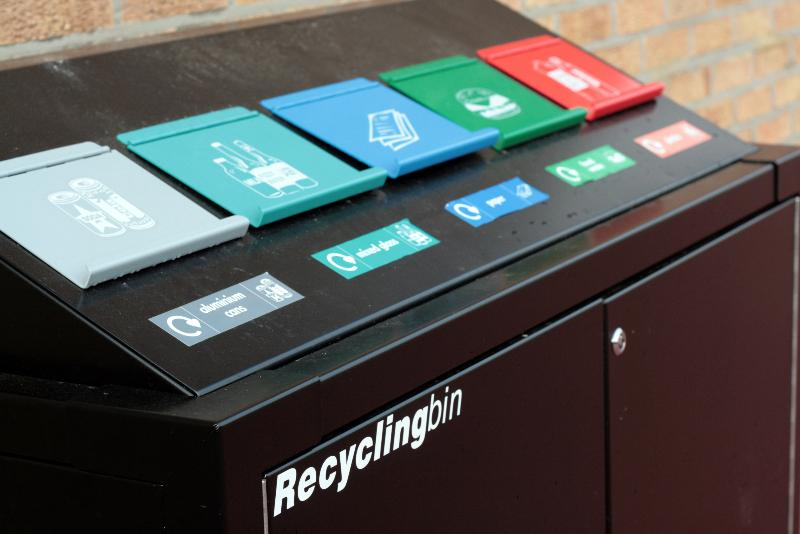 Playground recycling options